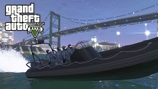 GTA 5 - Cargo Ship Hostage Rescue - SWAT Team Six - Special Ops