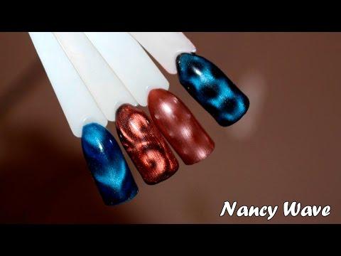 Гель лак Кошачий глаз : магнитная ручка для гель лака | Magnetic Nail Polish Designs: Magnetic Pen