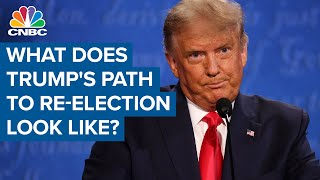 What does Donald Trump's path to re-election look like?