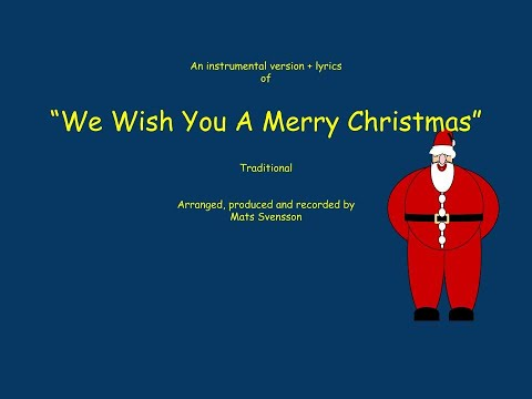 Dynamic image with regard to lyrics to we wish you a merry christmas printable