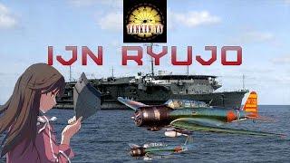 [TenkenTV] IJN Ryujo Дракон обучения. [World of Warships]