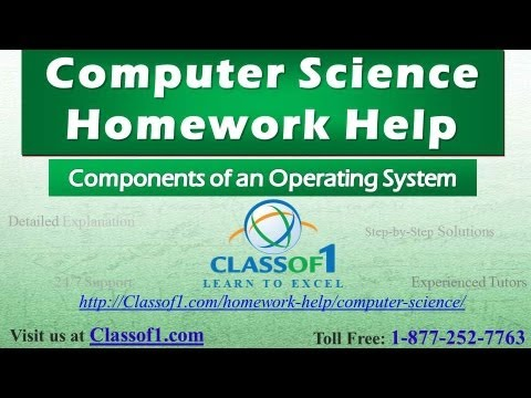 components of an operating system computer science assignment  components of an operating system computer science assignment help by classof1 com