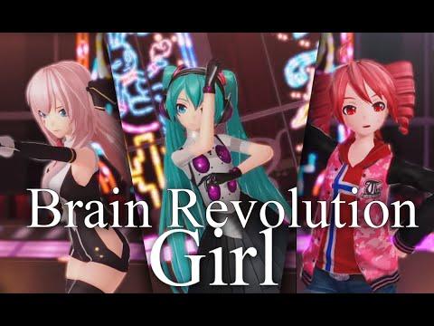 [Brain Revolution Girl] [Teto, Luka and Miku] [PS4]
