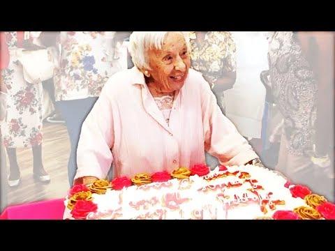 107-летняя бабушка рассказала свой секрет долголетия