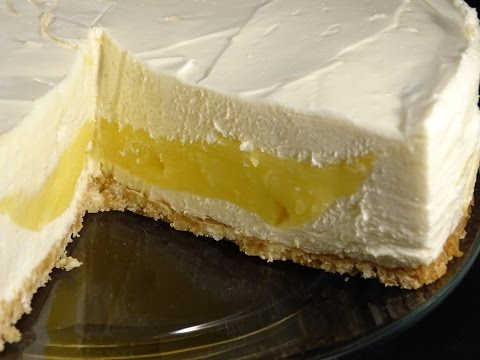 No-Bake (except for crust) Lemon Surprise Cheesecake- with yoyomax12