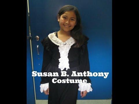 Making Susan B  Anthony Costume
