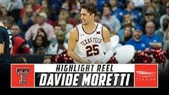 Davide Moretti Texas Tech Basketball Highlights - 2018-19 Season   Stadium