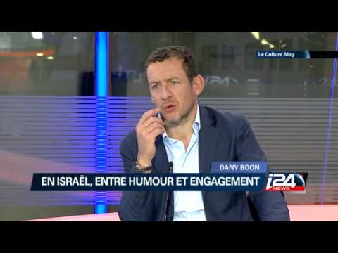 Interview de Dany Boon sur le plateau d'i24news