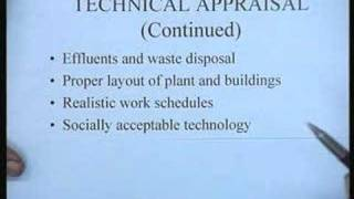 Lecture - 4 Project Appraisal: Part 1