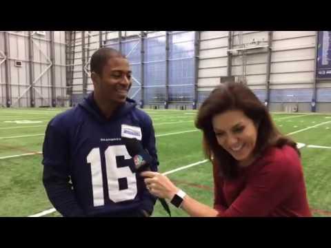 Live with Seattle Seahawks Tyler Lockett
