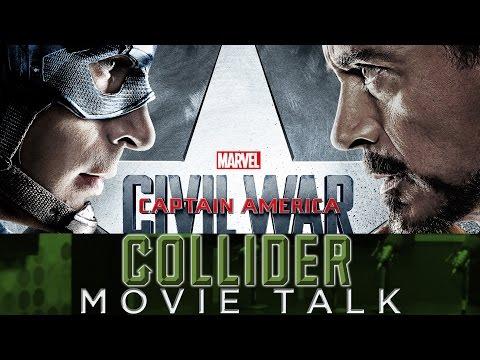 Collider Movie Talk - New Captain America: Civil War Trailer with Spider-Man Reveal!