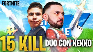 Fortnite : una Duo con Kekko Bella Aggressiva