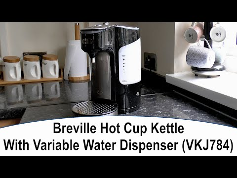Breville Hot Cup Kettle With Variable Water Dispenser (VKJ784) - Unboxing and Review