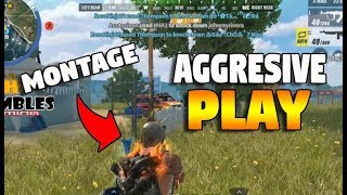AGGRESSIVE GAMEPLAY ME VS FIRETEAM!! (Rules of Survival: Battle Royale)