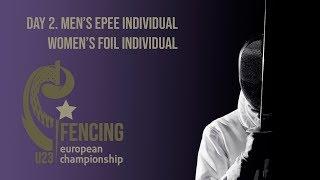 Day 02 2019 European fencing championships U23 - Blue