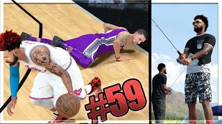 HOF ANKLE BREAKER KNOCK OUT! GONE FISHING! NBA 2k18 MyCAREER Ep. 59