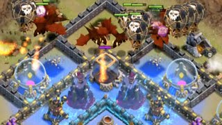 Clash of Clans - Clan Wars Live - Kings Get Dragooned!