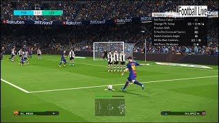 PES 2018 | FC BARCELONA vs UD LEVANTE | Gameplay PC