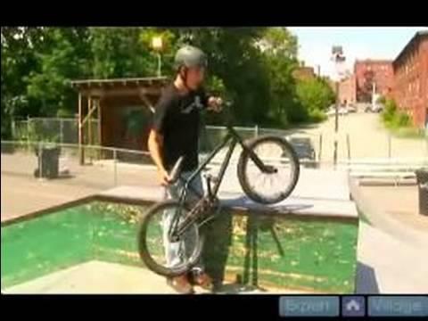 How to Jump With a BMX Bike : How to Hop Onto an Object with a BMX Bike