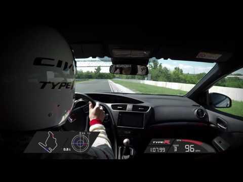 Honda Civic Type R record lap - Hungaroring