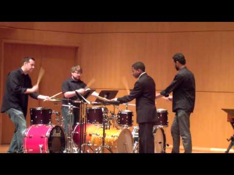 LSU Chamber Winds Camp 2014-Percussion Ensemble
