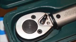 Обзор и распаковка динамометрического ключа Jonnesway T04080