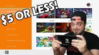 Cheap Nintendo Switch Eshop Games Worth Playing!