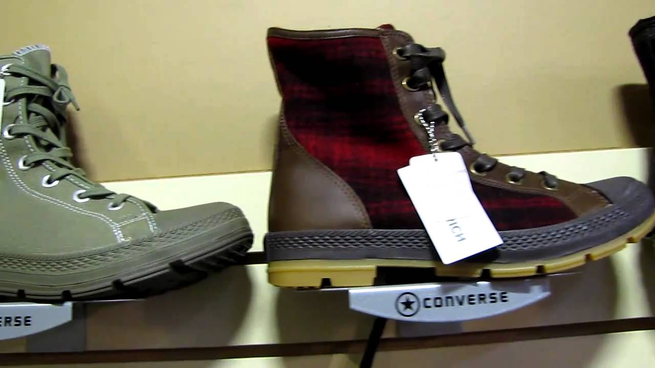 Converse Shoes  New Outsider Boots Pt.1 - YouTube bffff0acb
