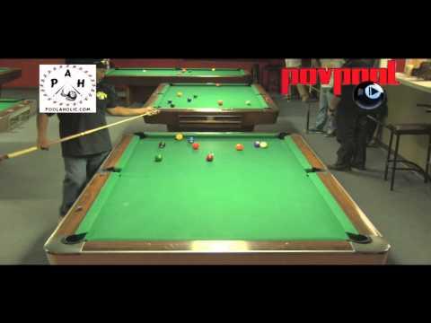 Manila Billiards 9-Ball - Leonard vs Mark & Oscar vs Rhino / Dec 2013