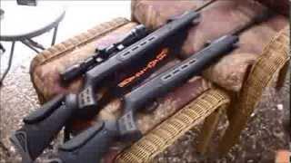 Hatsan 125 Sniper .22 Cal Cold Weather Test  Vortex Vs Spring Piston