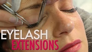 Eyelash Extensions with Esme | Jamie Greenberg Makeup Thumbnail
