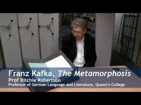 Treasures of the Bodleian: Kafka's Metamorphosis