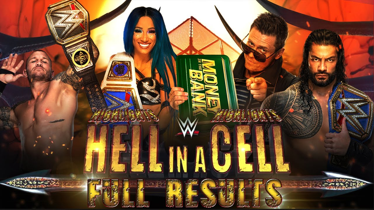 WWE Hell in a Cell 2020: Results, full recap and new champions