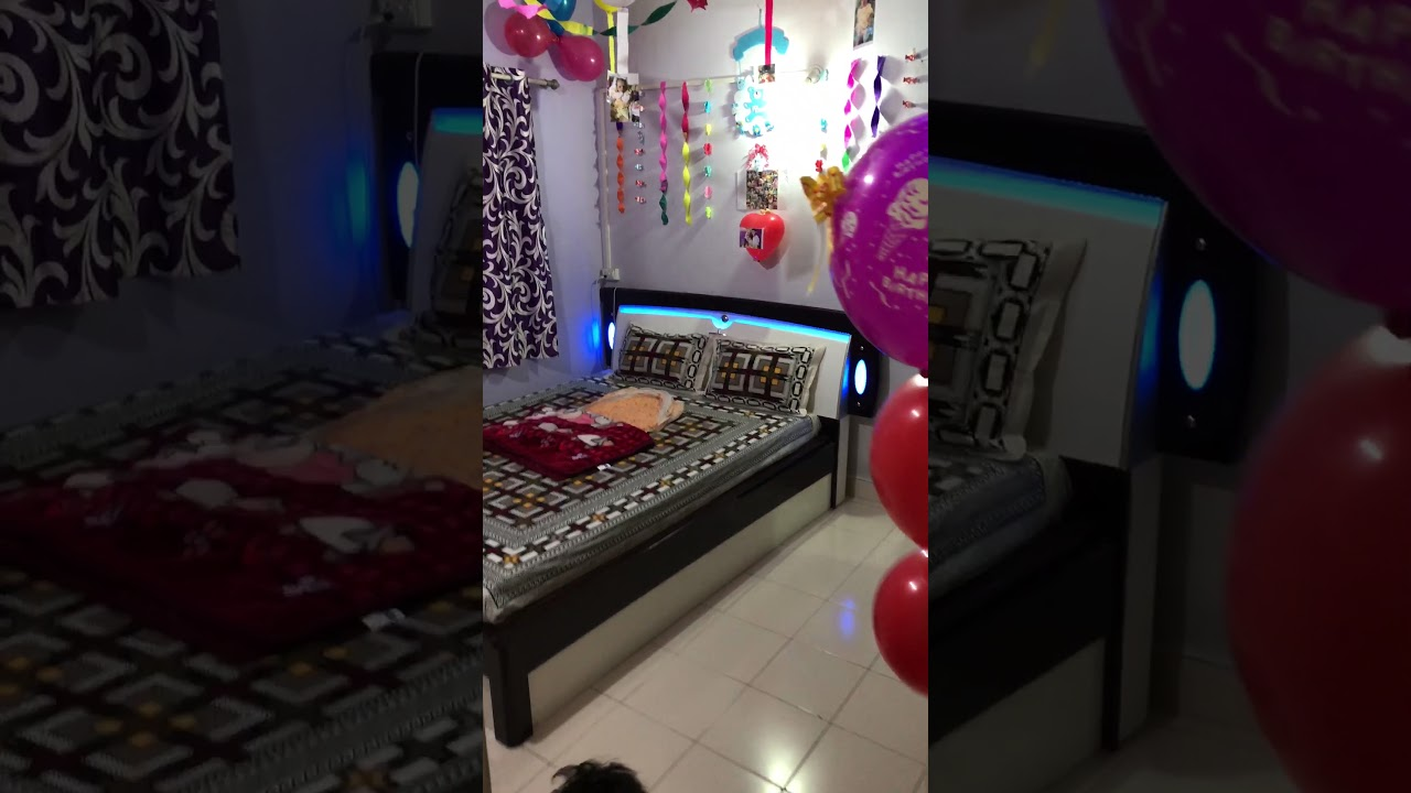 Decoration Of My Baby Boy Welcome At Home Youtube