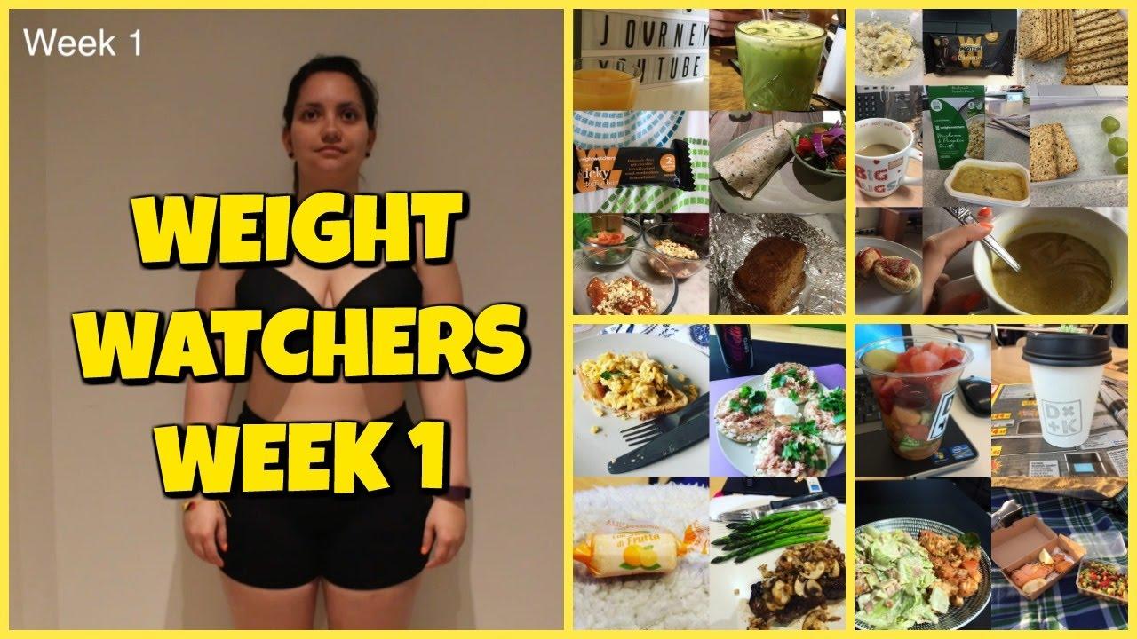 Weight Watchers Week 1 Mai S Journey To Fitness Sub Espanol