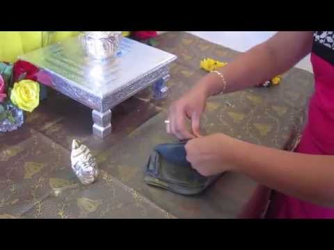 How to make Lakshmi Idol for Varalakshmi vratham