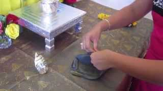 How to make Lakshmi Idol for Varalakshmi vratham