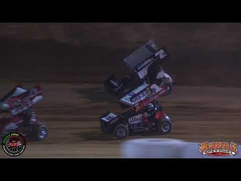 June 9th, 2018 Placerville Speedway 360 Sprint Car Highlights