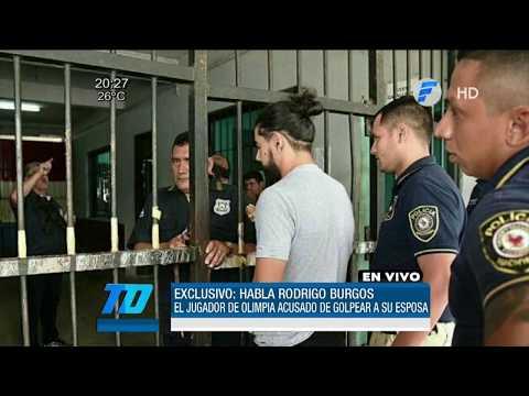 Rodrigo Burgos ya está recluido en Tacumbú