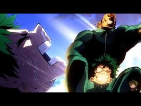 1898cda2e28ac Midoriya training with all might - Boku no Hero Academia - YouTube