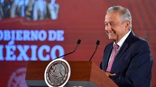 Avanzan diálogos por ductos y presa El Zapotillo. Conferencia presidente AMLO