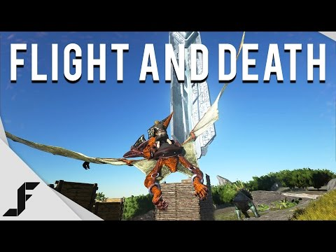 Flight and Death! - Ark Survival Evolved Gameplay Episode 6