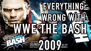 Episode #345: Everything Wrong With WWE The Bash 2009