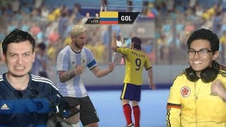 ARGENTINA VS COLOMBIA EN FUTBOL SALA, FIFA STREET!! - EL DUELO FINAL