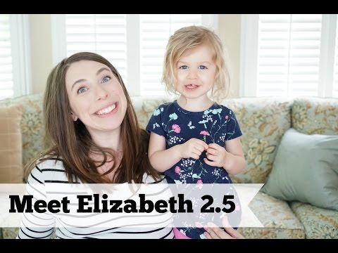 Meet Elizabeth! | An Interview (Sort of) with a 2.5 Year Old
