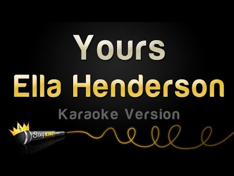 Ella Henderson - Yours (Valentine's Day Karaoke)