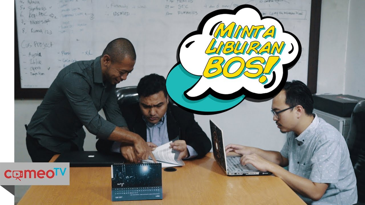 VIDEO LUCU MINTA LIBURAN BOS YouTube