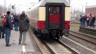 TEE Rheingold Amsterdam - Basel - Sion met baureihe 103