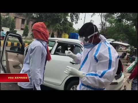 Ấn Độ: Số ca nhiễm hàng ngày tăng kỷ lục (VOA)