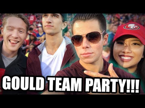 PARTY WITH THE GOULD TEAM | Real Estate Vlog | Silicon Valley | San Jose